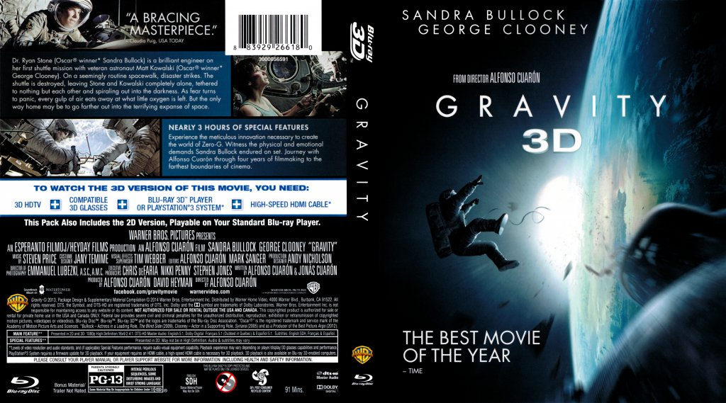 gravity bluray cover wwwimgkidcom the image kid has it