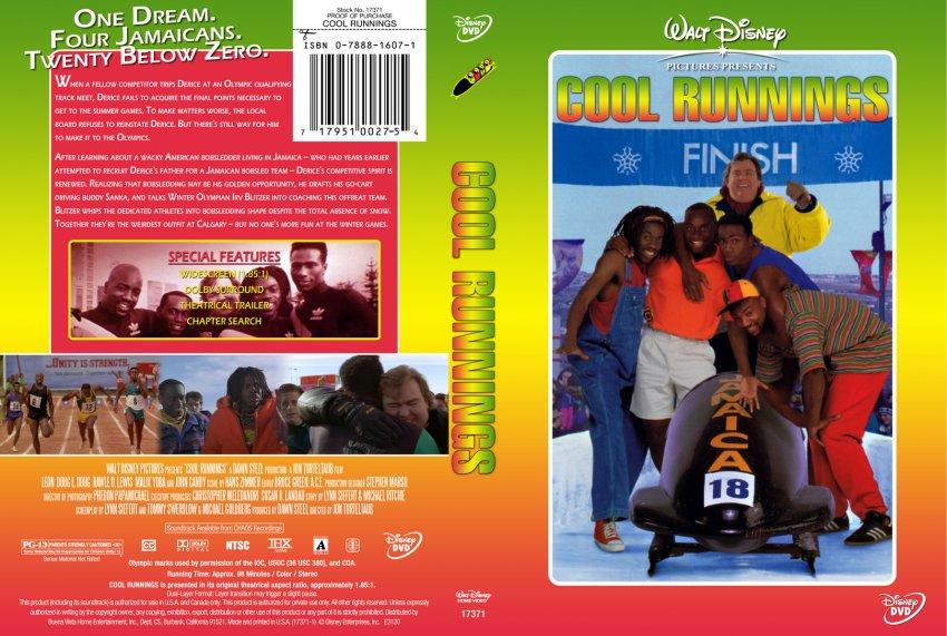 Cool Runnings - Movie DVD Custom Covers - 416Cool Runnings ...