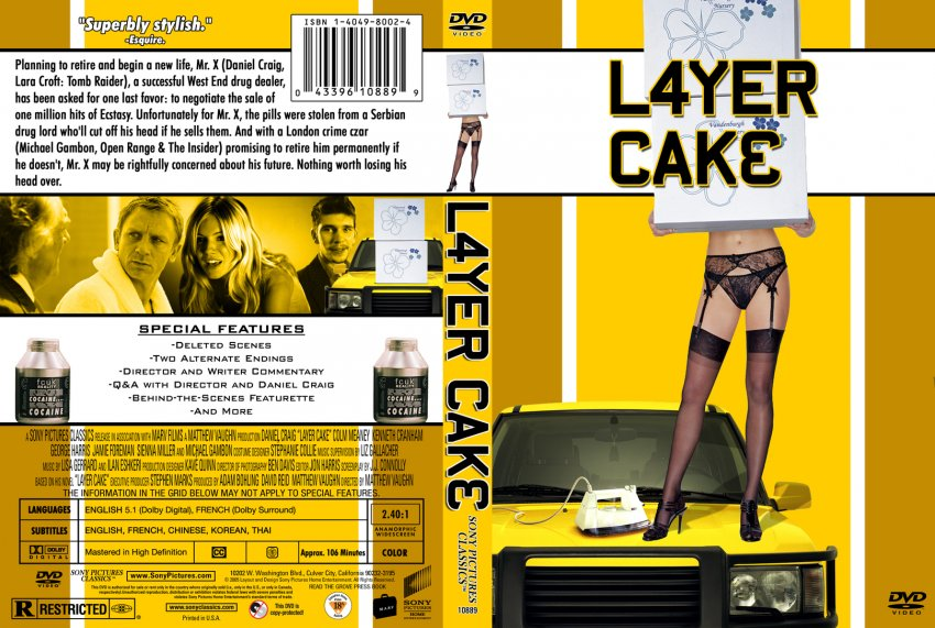 Cake Dvd Cover
