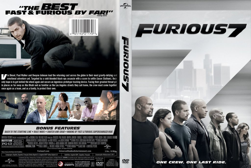 furious 7 movie dvd scanned covers furious 7 dvd dvd covers. Black Bedroom Furniture Sets. Home Design Ideas