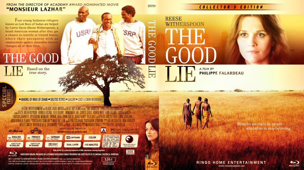 The good lie blu ray cover 2013 copy movie blu ray custom covers