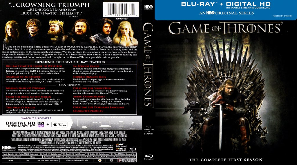 TV Blu-Ray Scanned Covers