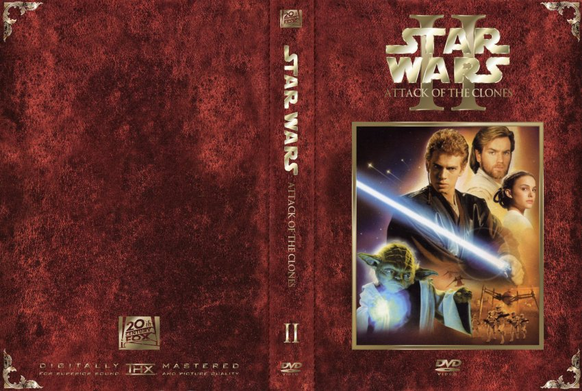 Star Wars The Clone Wars Movie Dvd Star Wars Attack of The Clones