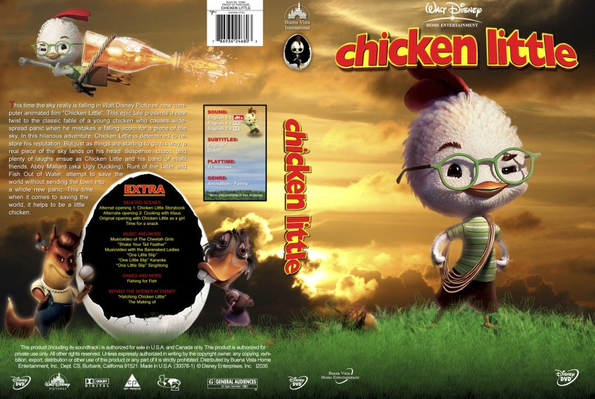 Chicken Little - Movie DVD Custom Covers ...