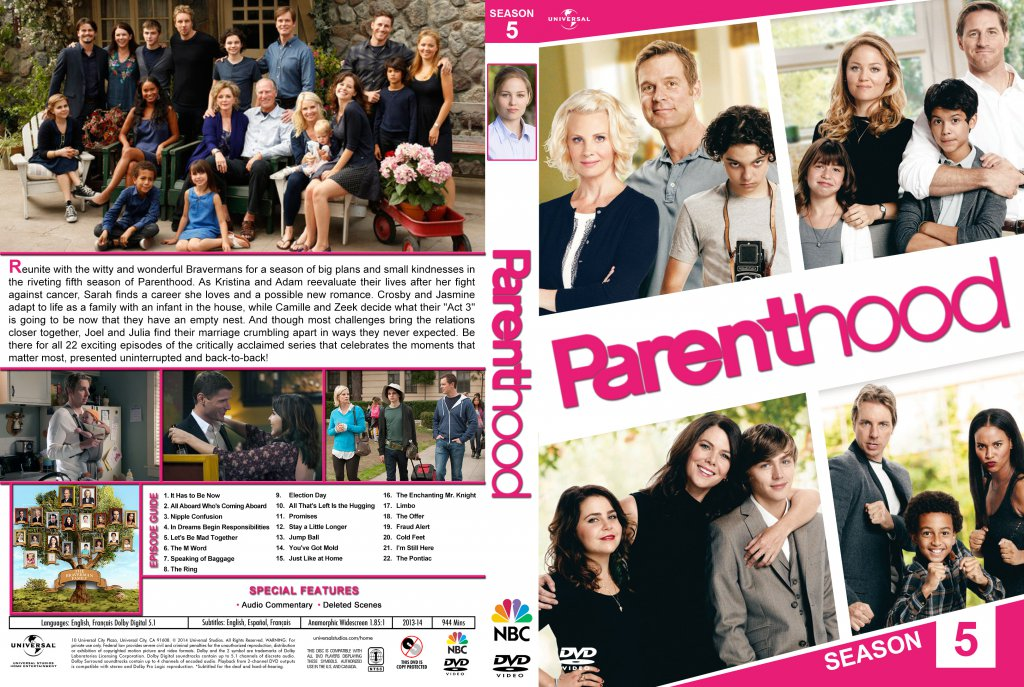Parenthood - Season 5 - TV DVD Custom Covers - Parenthood ...
