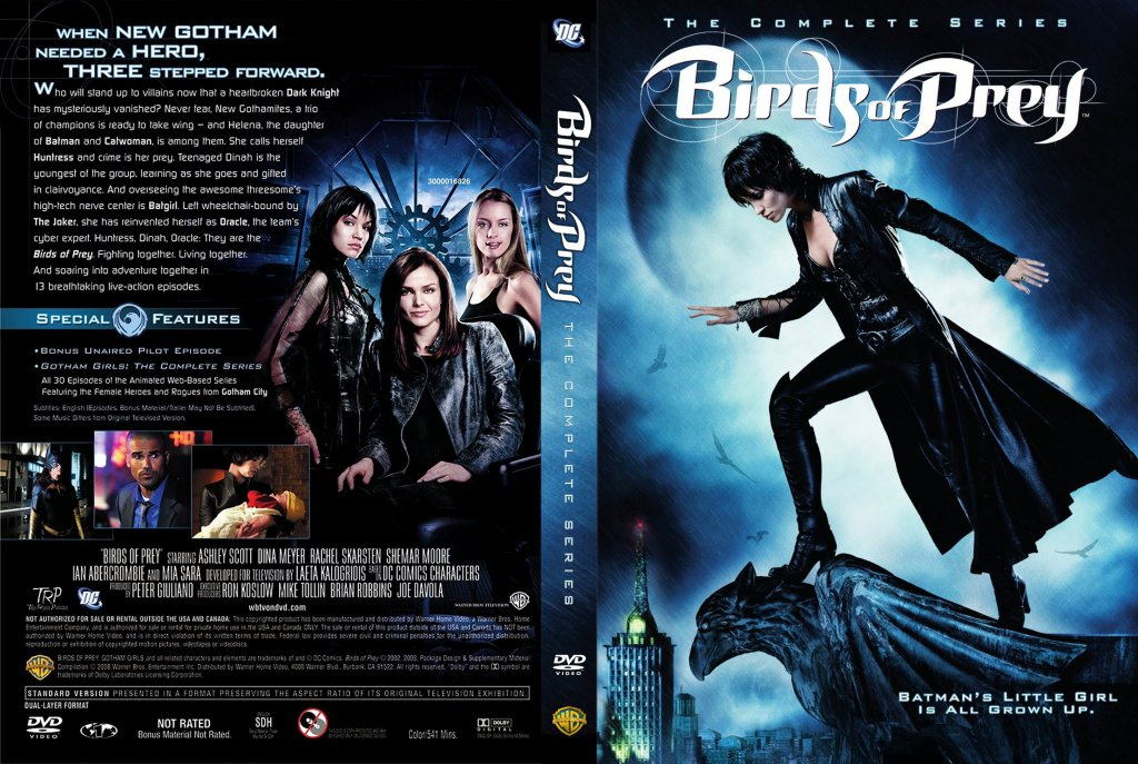 Birds Of Prey The Complete Series Tv Dvd Scanned Covers Birds Of Prey The Complete Series Dvd Dvd Covers