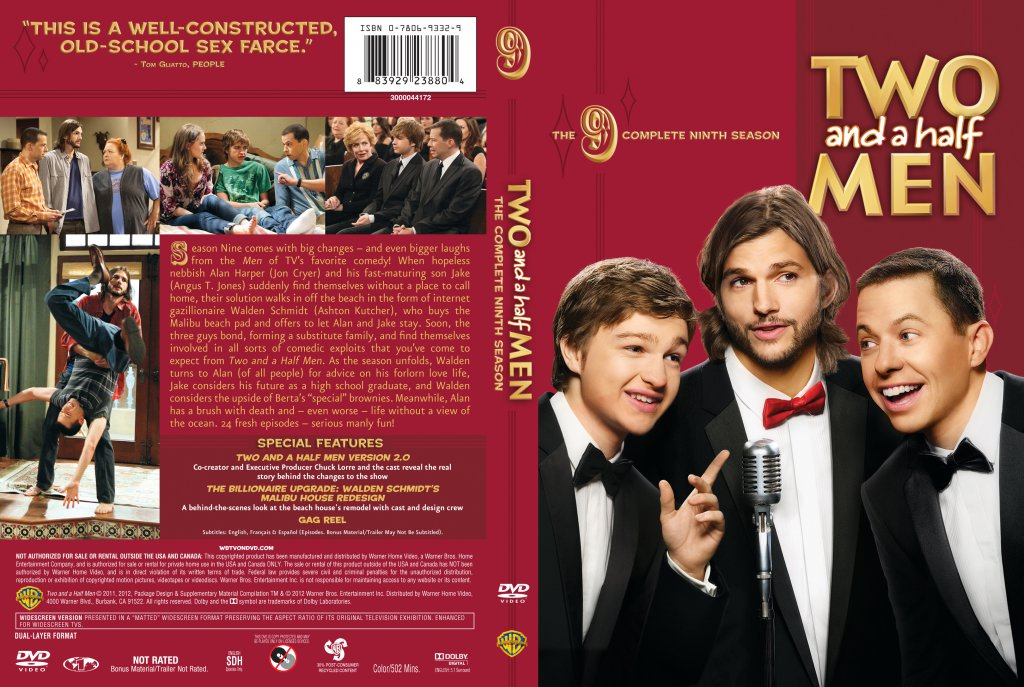 Two And A Half Men Season 9 - TV DVD Scanned Covers - Two ...
