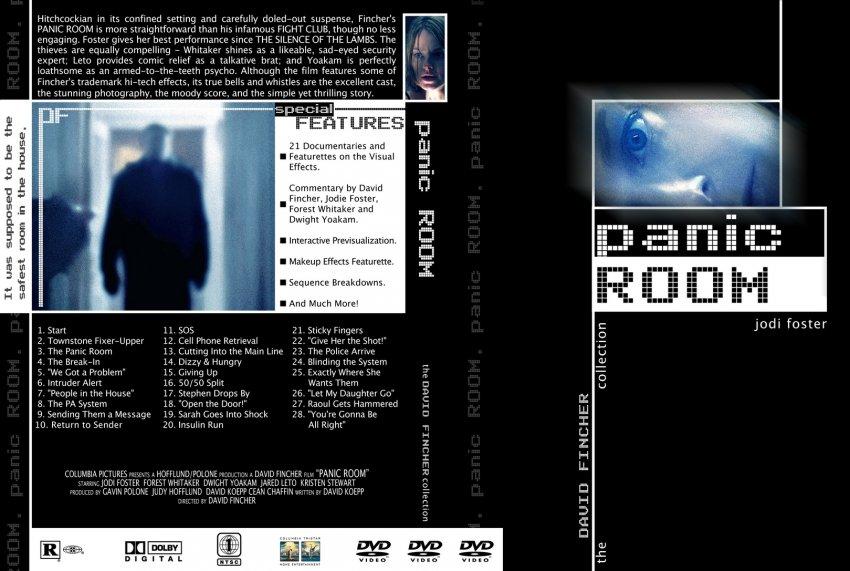 Panic room movie dvd custom covers 432panic room for Custom panic room