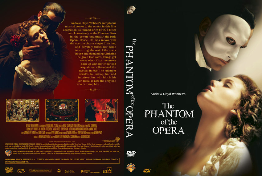 a review of phantom of the opera movie Andrew lloyd webber's the phantom of the it was an awesome movie and i really enjoyed it the opera was incredible and the preview family movie and tv review.
