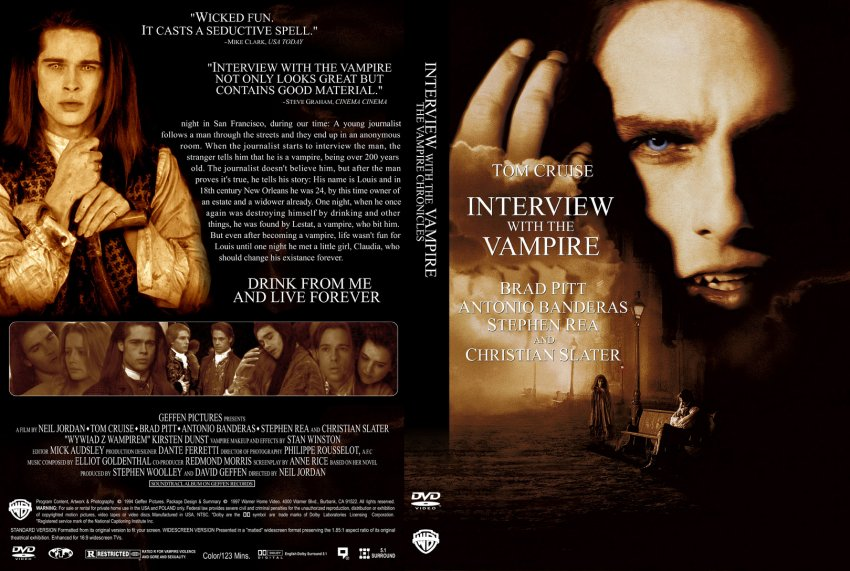 Interview with the VampireInterview With A Vampire Book Cover