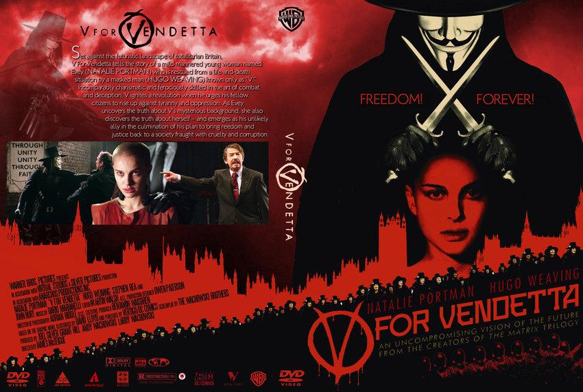 V For Vendetta Movie Cover V for Vendetta ...