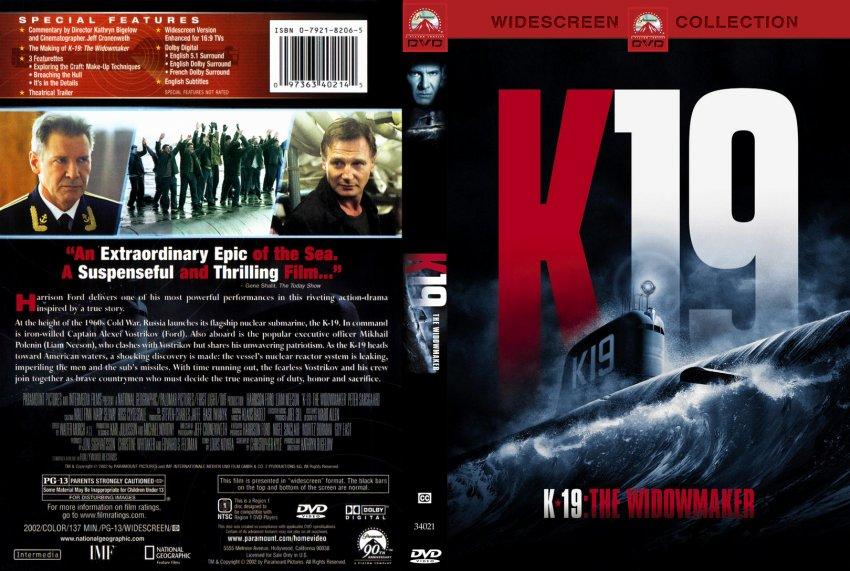 K19 - The Widowmaker - Movie DVD Custom Covers - 49k19 ...