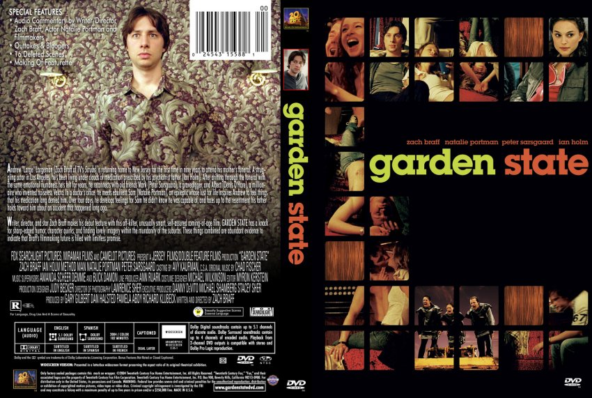 Garden State Movie Dvd Custom Covers 500garden State