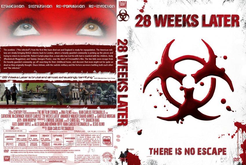 28 Weeks Later v2 - Movie DVD Custom Covers - 508428 weeks later v2 ...