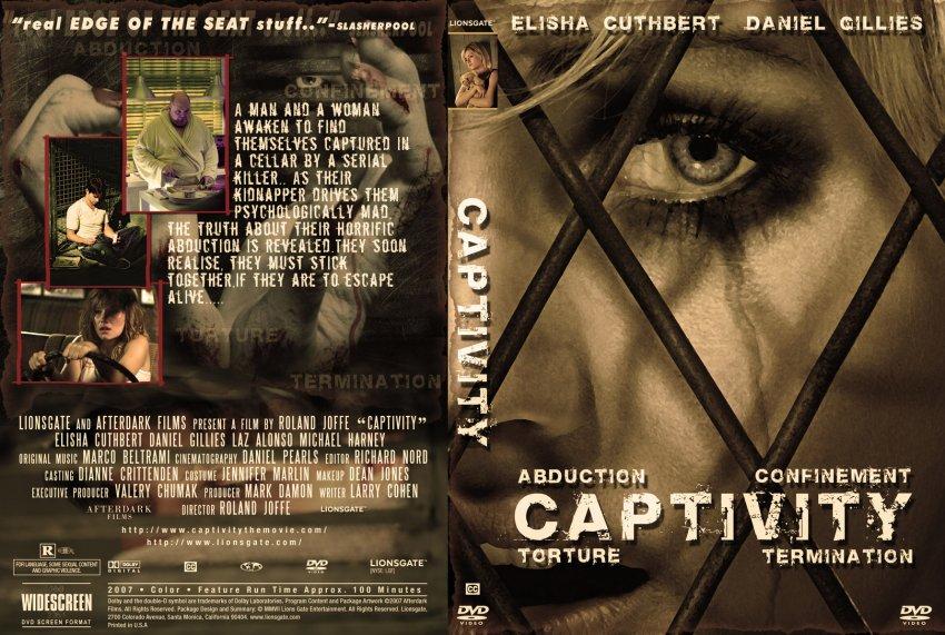 Captivity - Movie DVD Custom Covers - 5084Captivity J0nn0 ...