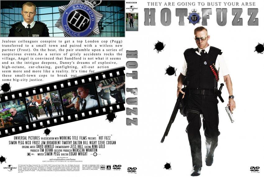 Hot Fuzz - Movie DVD Custom Covers - 5084Hot Fuzz J0nn0 :: DVD Covers