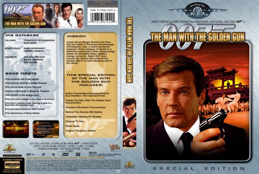 The Man With The Golden Gun Dvd Man With a Golden Gun Dvd