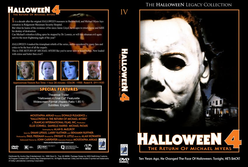 View Halloween 4 The Return Of Michael Myers Dvd Gif