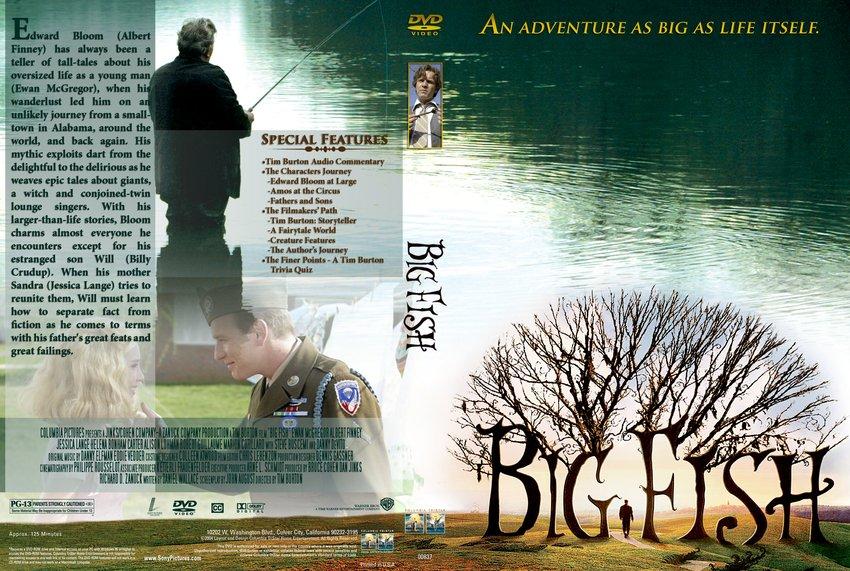 Big fish movie dvd custom covers 5171big fish custom for Big fish movie online