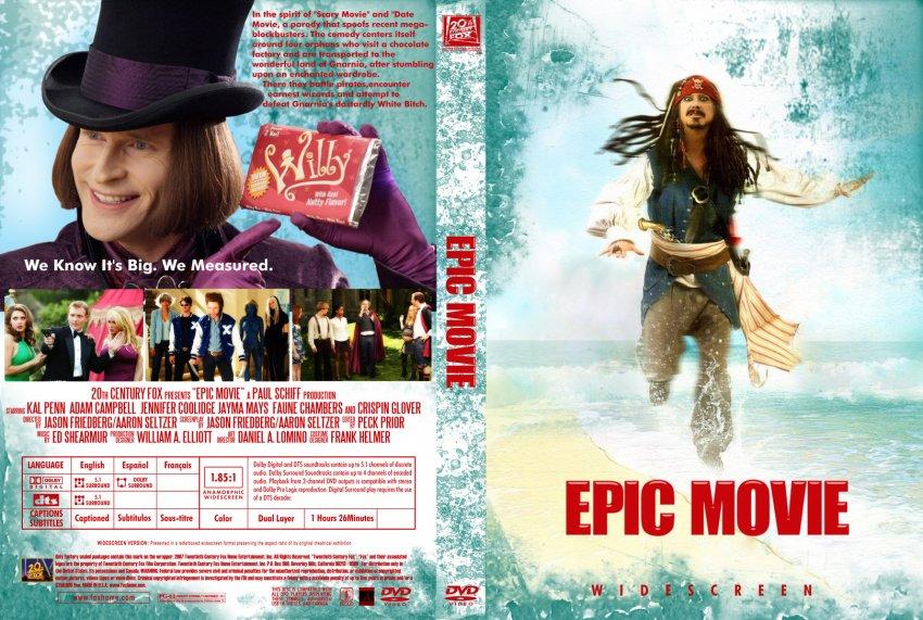 Epic Movie - Movie DVD Custom Covers - 5434Epic Movie copy ...