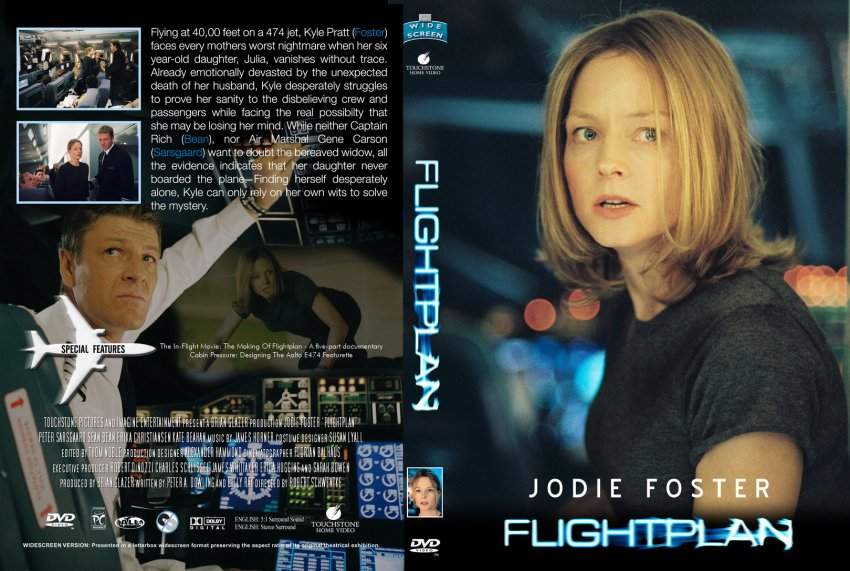 Flightplan - Movie DVD Custom Covers - 5434Flightplan4 ...
