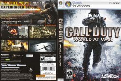 Call of Duty World at War PC Game Retail R1