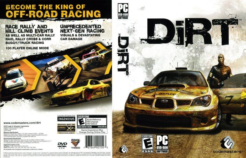 Описание: Colin McRae: DIRT is Производител: Codemasters Pазпространите