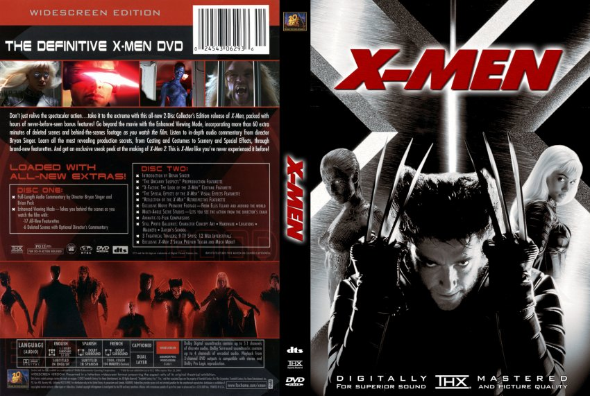 55X-Men Custom :: DVD Covers