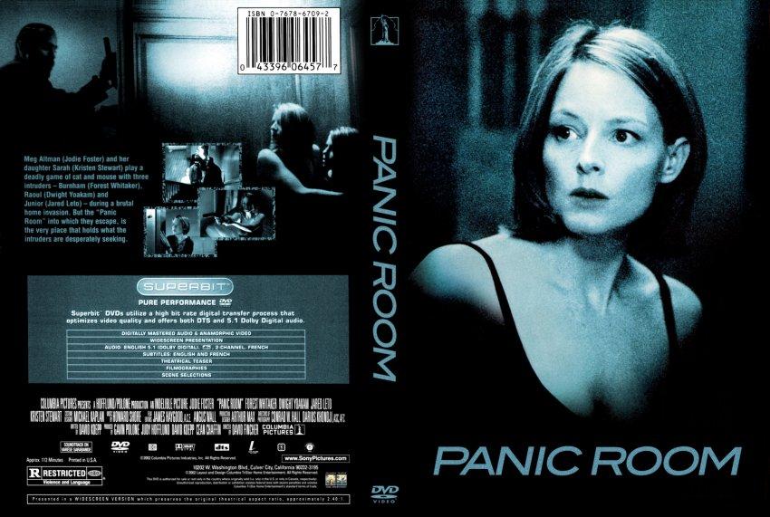 Panic room movie dvd custom covers 56proomsb 10450 for Custom panic room