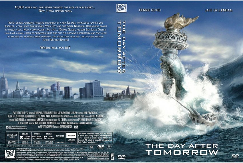 essays on the day after tomorrow Essay writing guide english film study the day after tomorrow starts with a blackout our day out.