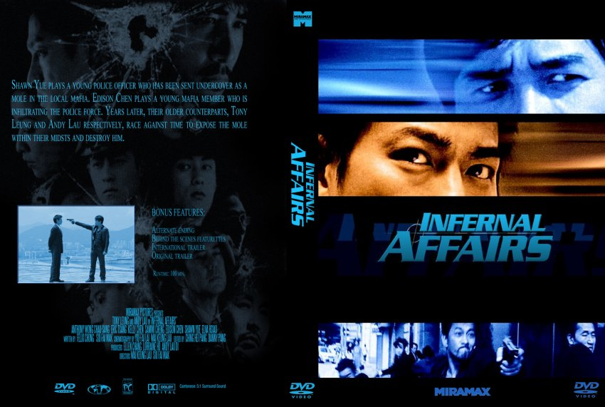 Infernal Affairs Cover