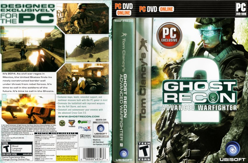 В ghost recon advanced warfighter 2. Скачать ghost recon advanced warfighte