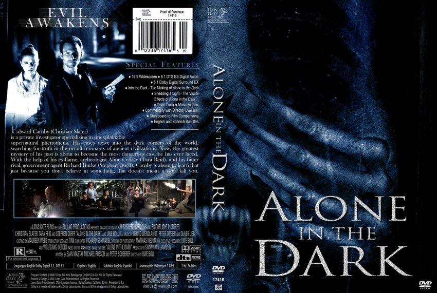 Alone In The Dark Movie Dvd Custom Covers 595alone In The Dark