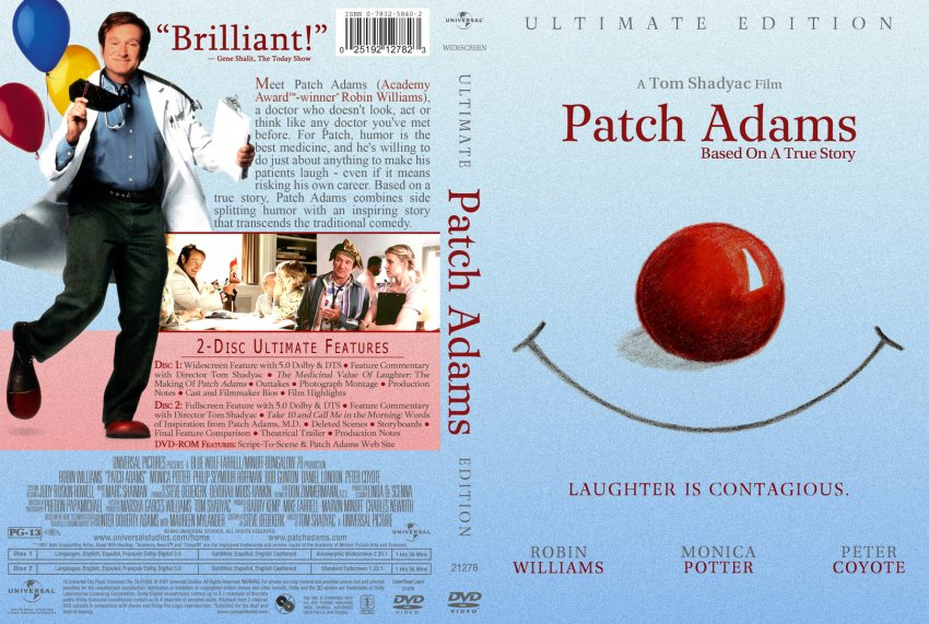 an essay on patch adams Adams had a difficult childhood his father, an officer in the united states army, had fought in korea, and died while stationed in germany when adams was still a teenager.