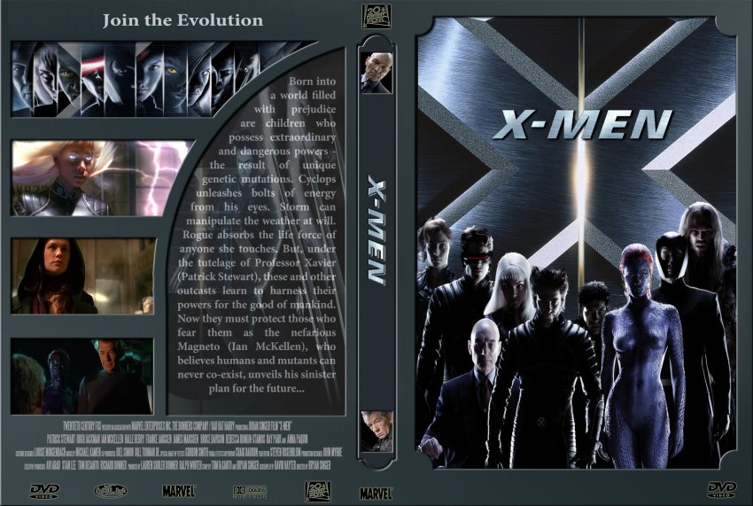 X Men Dvd Cover: 6218X-Men :: DVD Covers