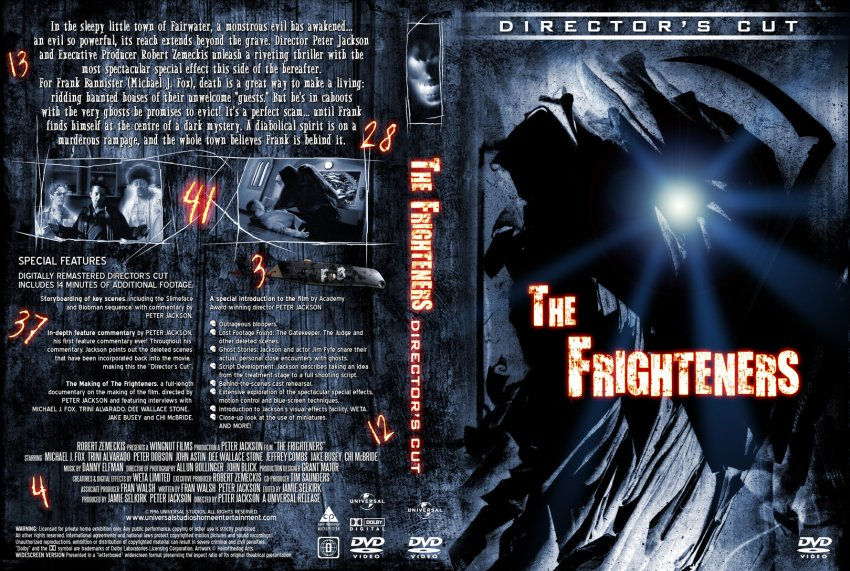 The Frighteners Director's Cut Cover