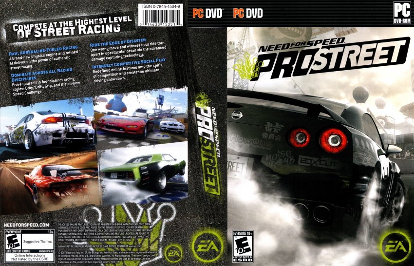 Need For Speed ProStreet - PC US