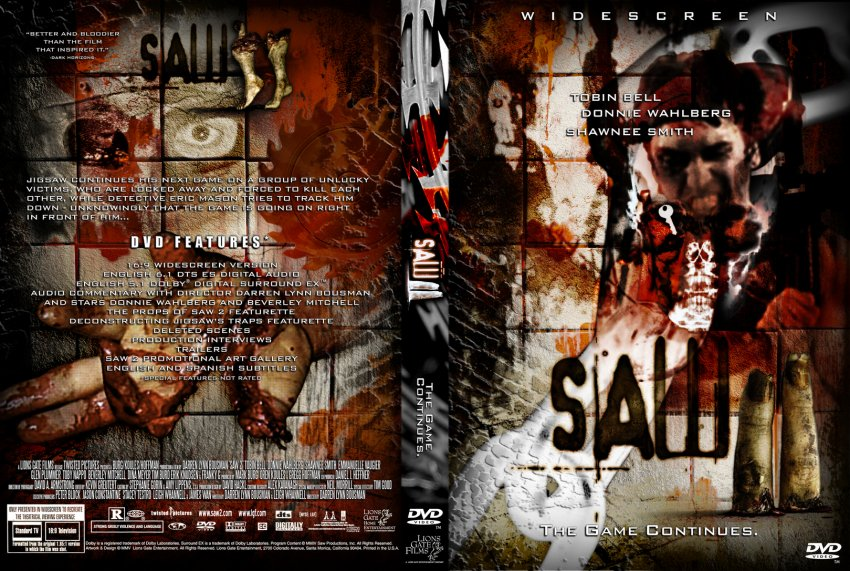 Saw Movies Dvd Covers Saw 1 Movie Dvd Cover
