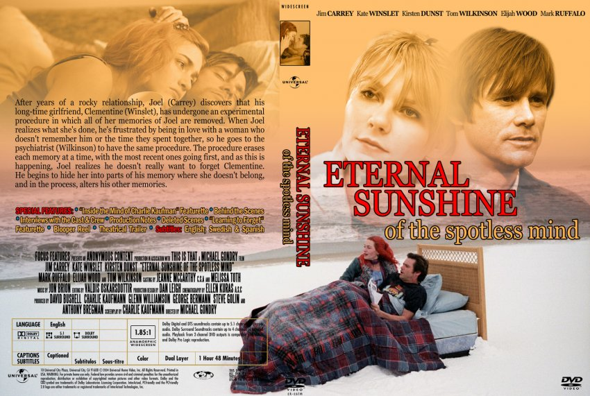 eternal sunshine of the spotless mind essay It is similar in eternal sunshine in michael gondry's eternal sunshine of the spotless mind identity-oranges and sunshine essay 'an individual's sense.