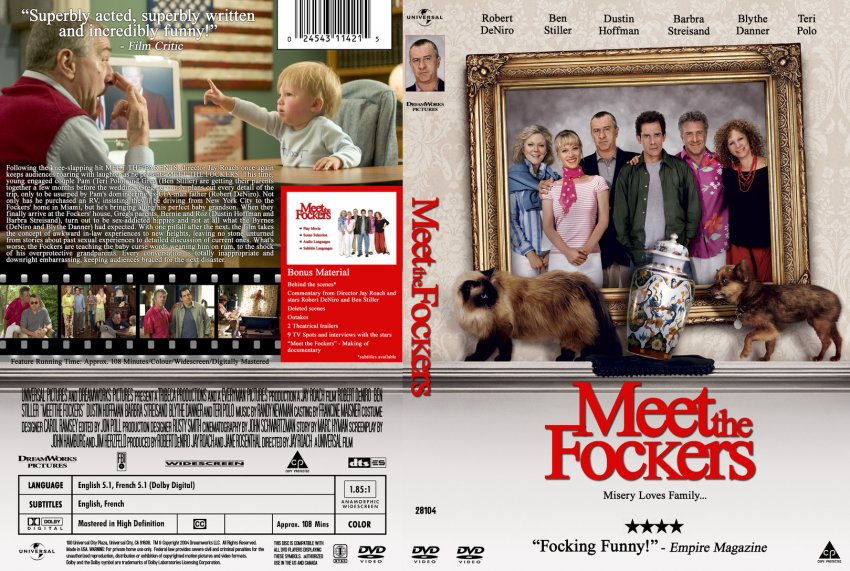 Meet the Fockers - Movie DVD Custom Covers ...