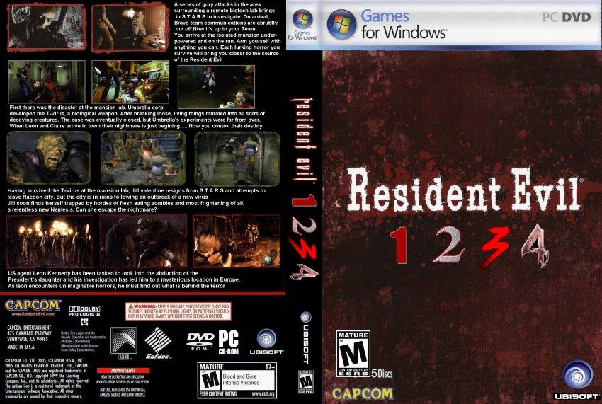 Resident evil 1 2 3 4