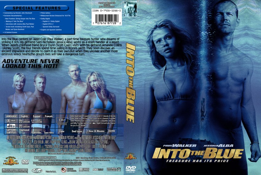 into the blue movie dvd custom covers 631into the blue dvd covers. Black Bedroom Furniture Sets. Home Design Ideas