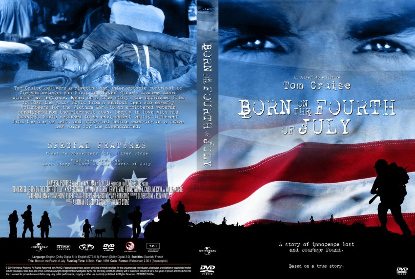 reflecting on born on the fourth of july Reflections on the fourth of july by bishop robert barron july 02, 2009 reflections on the vatican investigation of american nuns is hell crowded or empty.