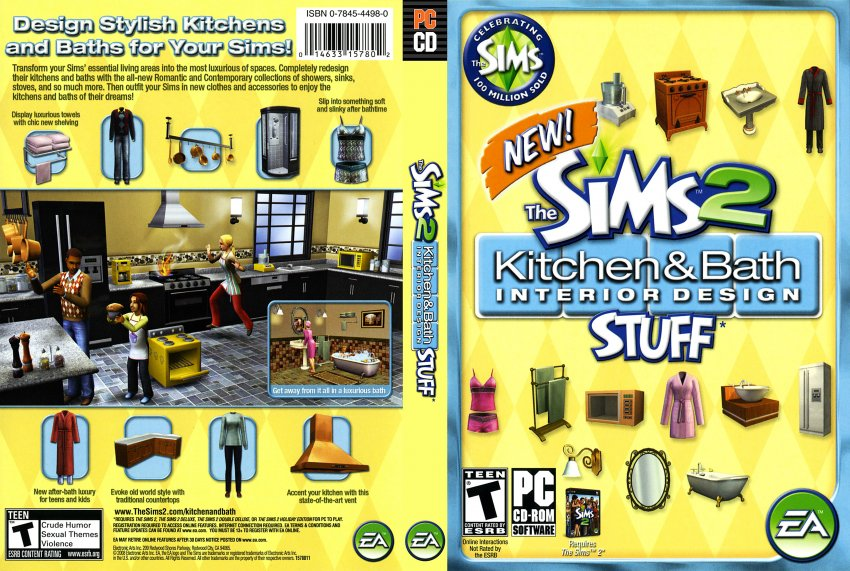 the sims 2 kitchen and bath interior design stuff pc