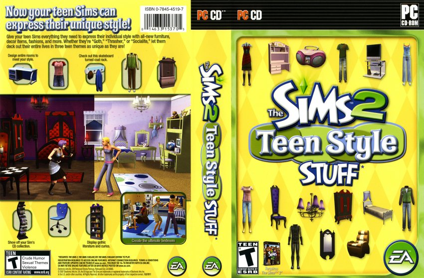 The Sims 2: H&M Fashion Stuff — StrategyWiki, the video game