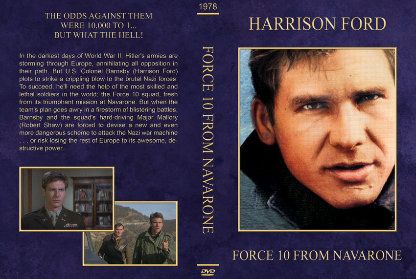 Force 10 From Navarone - Movie DVD Custom Covers ...