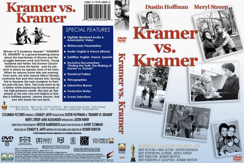 kramer versus kramer Kramer vs kramer starring meryl streep and dustin hoffman was filmed in new  york city in 1979 both actors won academy awards for their roles.