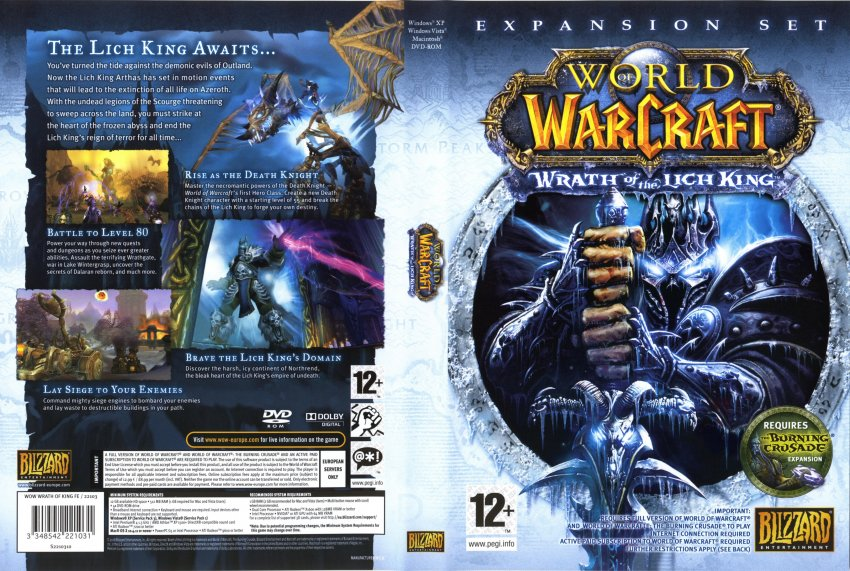 world of warcraft wrath of the lich king gameplay. Wow - Wrath of the Lich King