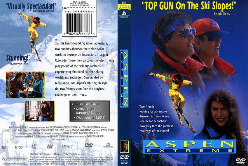 Aspen Extreme DVD Cover