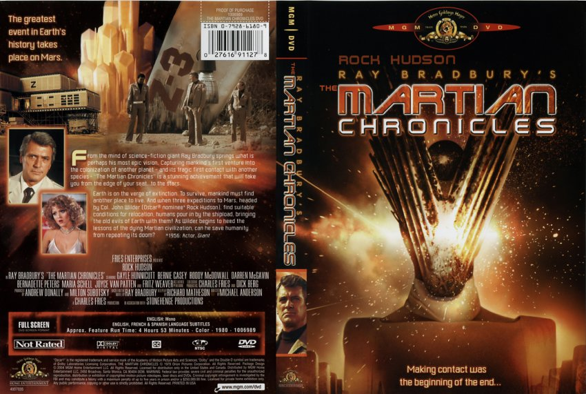 an introduction to the comparison of the martian chronicles the book and the movie